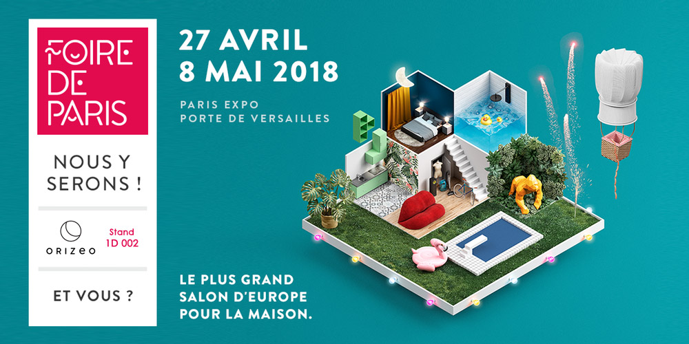 Orizeo à la foire de Paris 2018